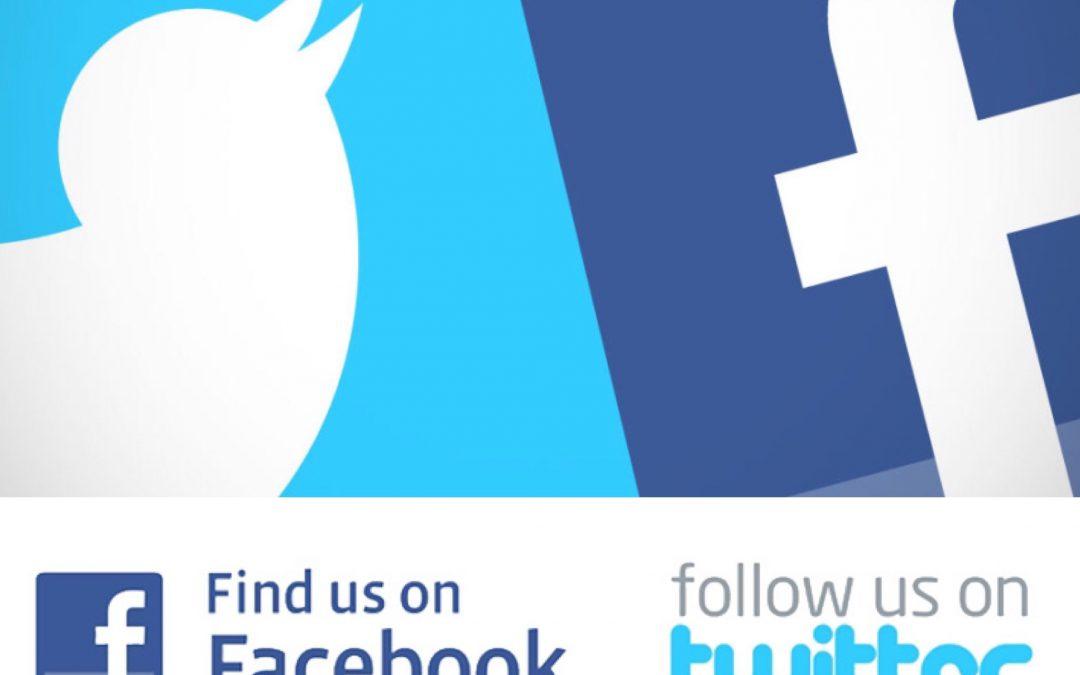 Follow us on social media